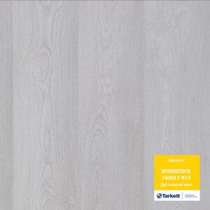 Ламинат Таркетт: Вудсток Фэмили - Дуб снежный люкс