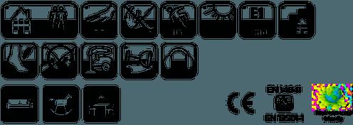 Ковролин Таркетт/Синтелон Монтана (характеристики, фото v1v0)