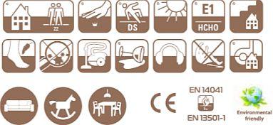 Ковролин Таркетт/Синтелон Антик (характеристики, фото v03v1)