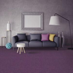 Ковролин Таркетт/Синтелон Драгон термо 47831 (фиолетовый) (в интерьере фото v2v0)