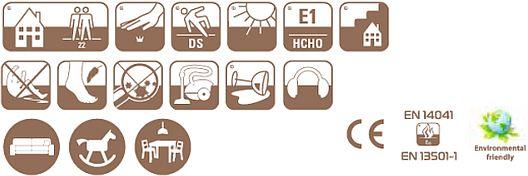 Ковролин Таркетт/Синтелон Порт термо (характеристики, фото v1v1)