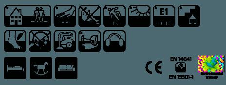 Ковролин Таркетт/Синтелон Драгон термо (характеристики, фото v03v0)